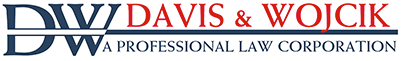 Logo of Davis & Wojcik, A Professional Law Corporation